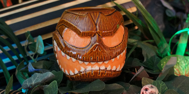 MahaloWeen, A special Tiki-Halloween event at Disneyland's Trader Sam's