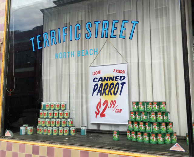 Terrific-Street-North-Beach-Canned-Parrot