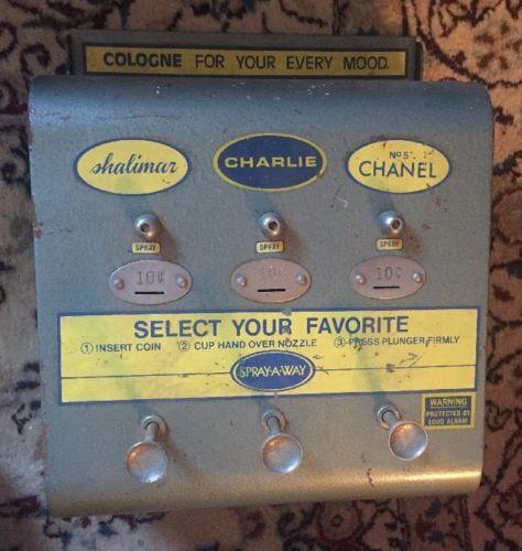 cologne vending machine